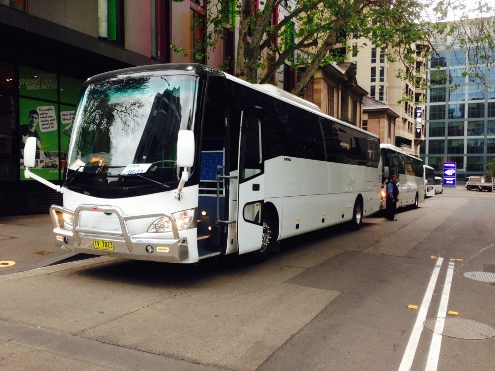 Corporate and Government - Corporate Bus Hire